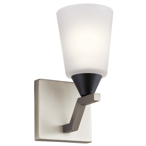 Skagos Brushed Nickel One-Light Wall Sconce