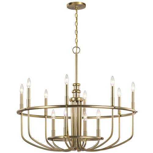 Capitol Hill Classic Bronze 12-Light Chandelier
