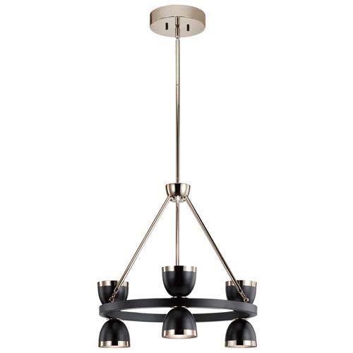 Baland LED Six-Light Chandelier