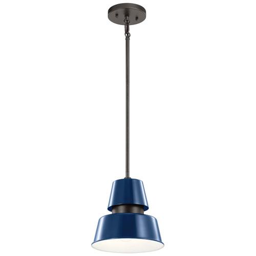 Lozano Catalina Blue One-Light Outdoor Pendant