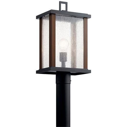 Marimount Black One-Light Outdoor Post Lantern