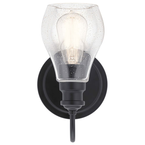 Elias Textured Black 11-Inch LED Outdoor Pendant