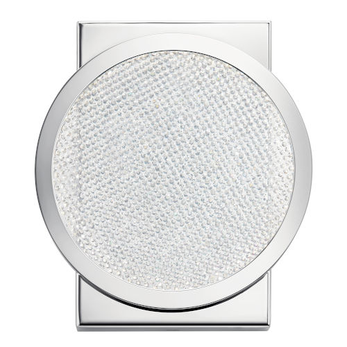 Delaine Chrome Seven-Inch LED Wall Sconce