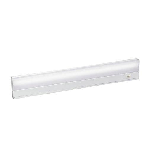 White Direct Wire Fluorescent 21-Inch Under Cabinet Light