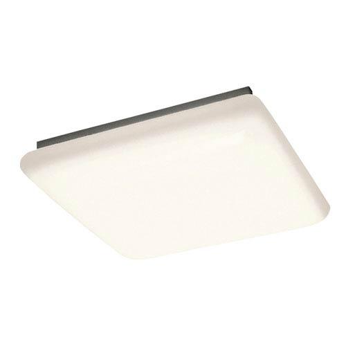 Kichler White Four-Light Ceiling Mount Fluorescent Light