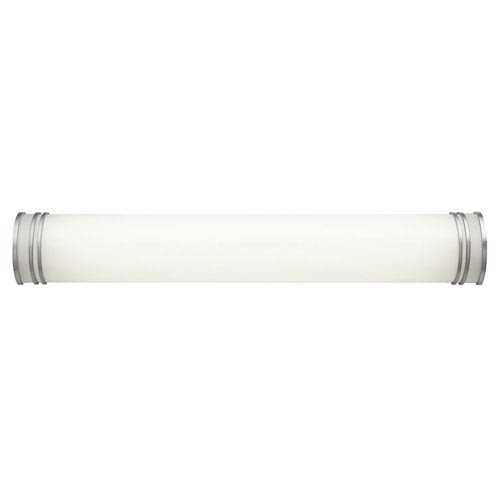 White 36-Inch Two-Light Fluorescent Bath Vanity Fixture