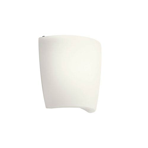 Kichler White One-Light Fluorescent Wall Sconce