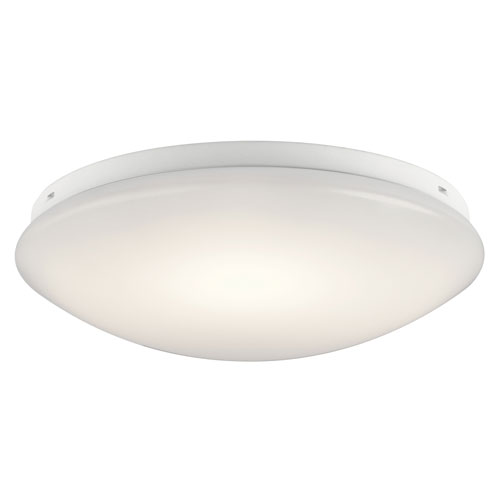 Kichler White 14-Inch Energy Star LED Flush Mount