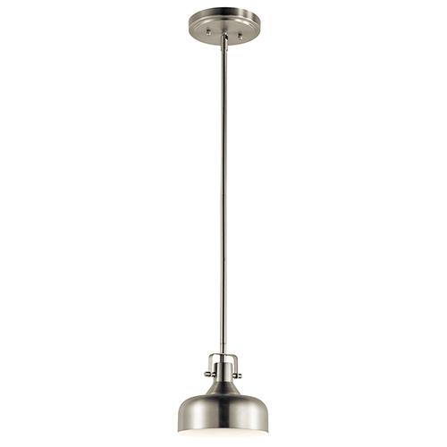 Kichler Brushed Nickel 7-Inch LED Mini Pendant