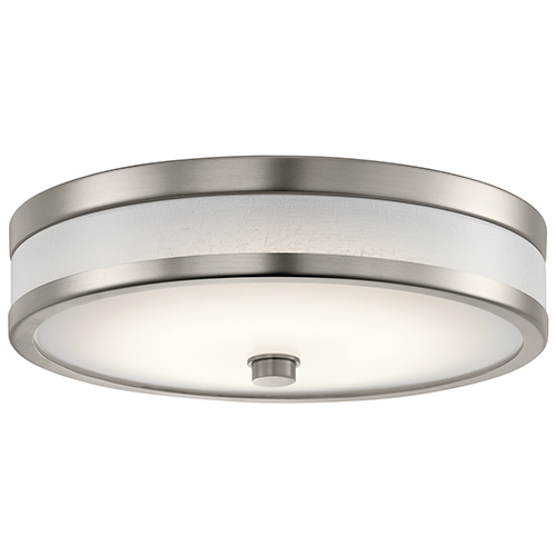 Pira Champagne 12-Inch LED Flush Mount
