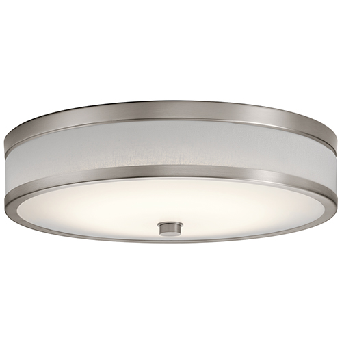 Pira Champagne 15-Inch LED Flush Mount