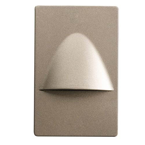 Kichler Brushed Nickel Dimmable LED Steplight