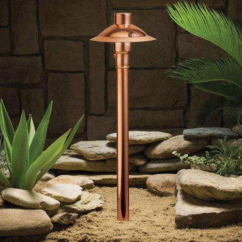 Copper Copper 21.5-Inch One-Light Landscape Path Light