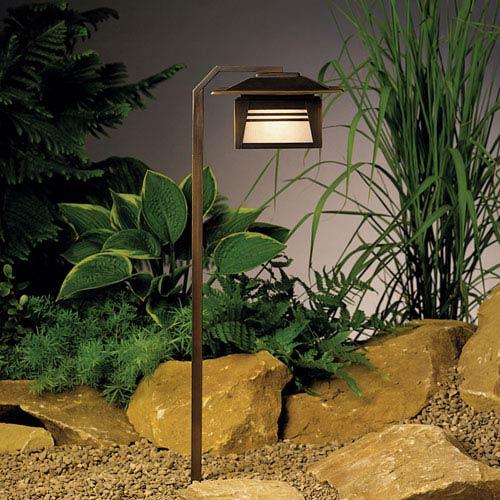 Zen Garden Olde Bronze 24-Inch One-Light Landscape Path Light