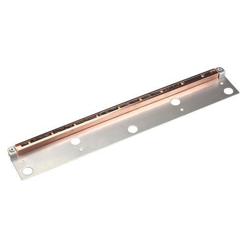 Copper 2700 Kelvin Nine-Light LED Landscape Deck Light with Bracket