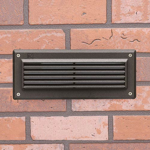 15773AZT27R Landscape Textured Architectural Bronze 2700K LED Deck and Brick Light