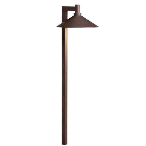 Kichler 15800BBR27R Bronzed Brass 2700K Ripley LED Path Light