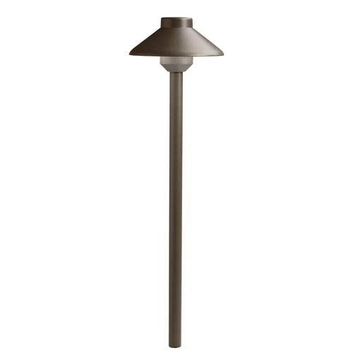 Textured Architectural Bronze 2700 Kelvin LED Landscape Path Light