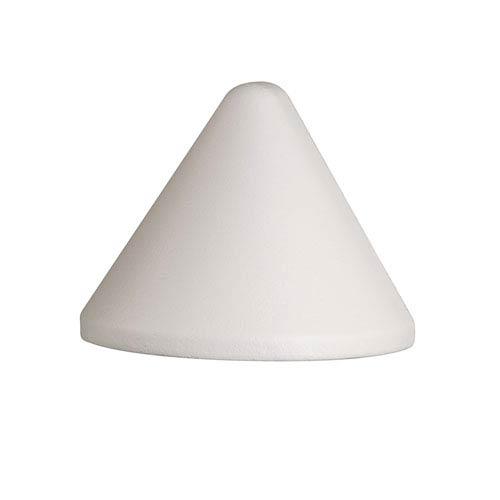 16110WHT27 Textured White 2700K LED Deck Light