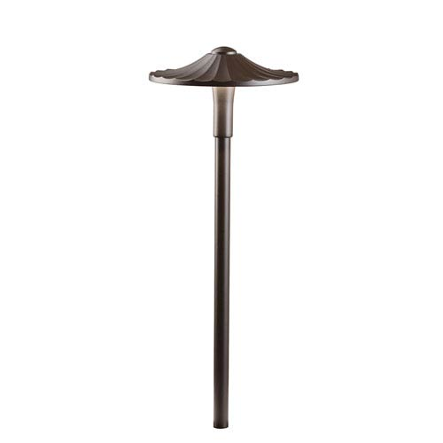 16125AZT27 Textured Architectural Bronze 2700K LED Flare Path Light