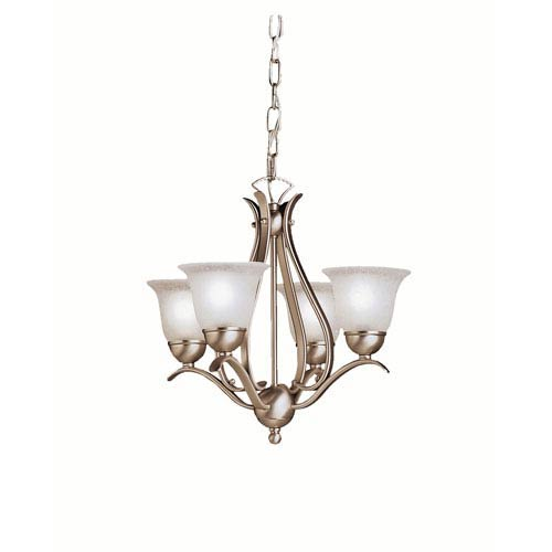 Kichler Dover Brushed Nickel Four-Light Chandelier