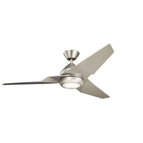 Kichler Jade Brushed Nickel 60-Inch Energy Star LED Ceiling Fan
