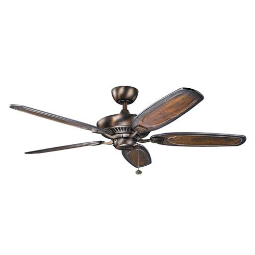 Canfield 52-Inch Oil Brushed Bronze Ceiling Fan