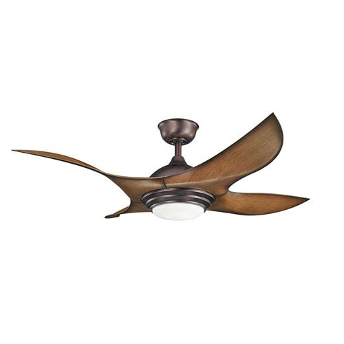 Kichler Shuriken Oil Brushed Bronze 52-Inch Fan