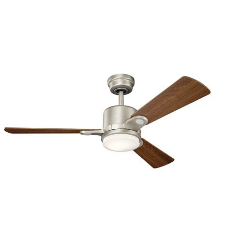Kichler celino brushed nickel 48 inch led ceiling fan 300304ni kichler celino brushed nickel 48 inch led ceiling fan aloadofball Images
