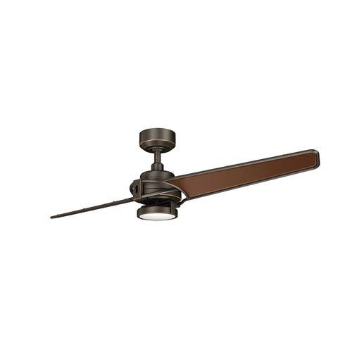 Xety Olde Bronze 56-Inch LED Ceiling Fan