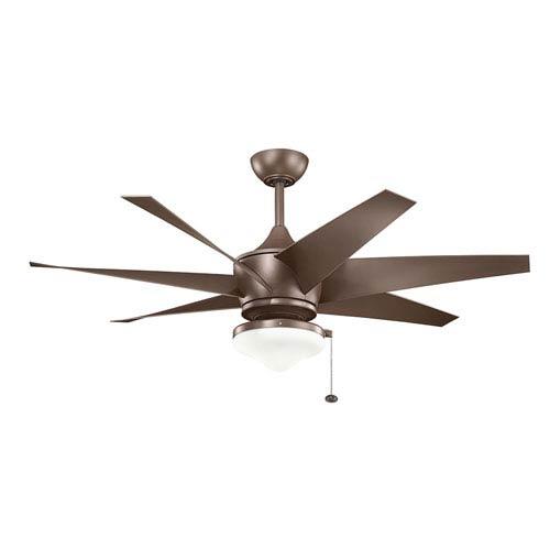 Kichler Lehr II Coffee Mocha Indoor and Outdoor Ceiling Fan