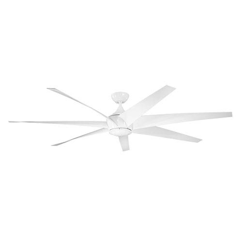 Kichler Lehr White Indoor and Outdoor Ceiling Fan