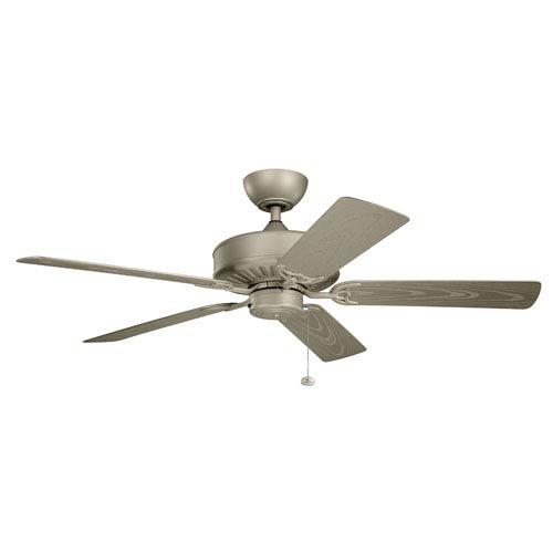 Kichler Enduro Antique Satin Silver 52 Inch Wet Location Ceiling Fan