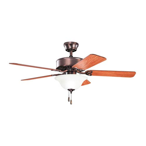 Kichler Renew Select ES Oil Brushed Bronze Two Light Ceiling Fan