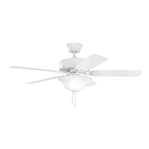 Kichler Renew Select White Three Light Ceiling Fan