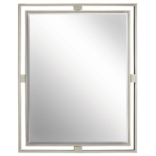 Hendrik Brushed Nickel Mirror