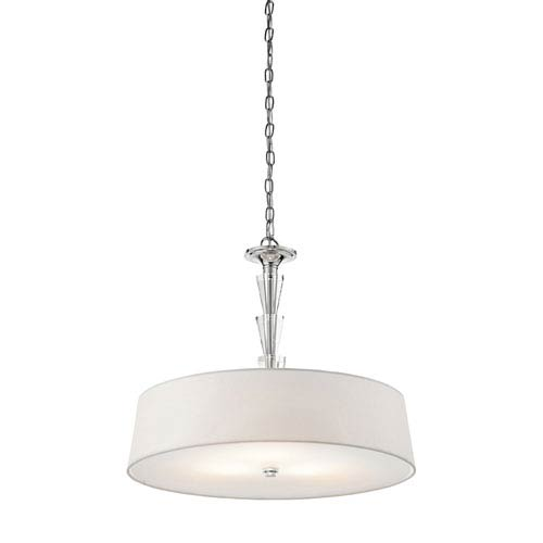 Kichler Crystal Persuasion Chrome Three-Light Pendant