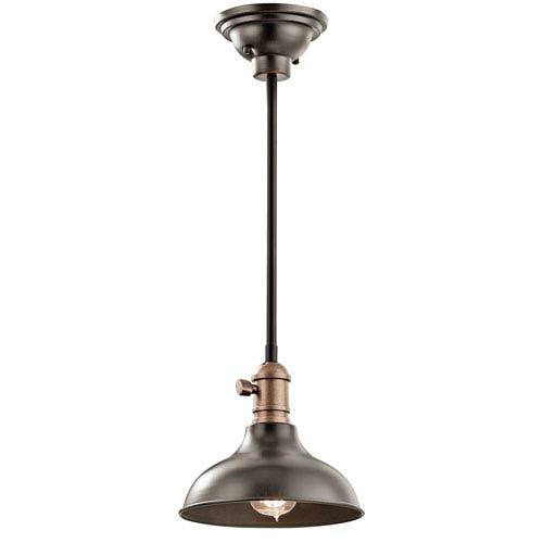Kichler Cobson Olde Bronze One-Light Convertible Mini Pendant