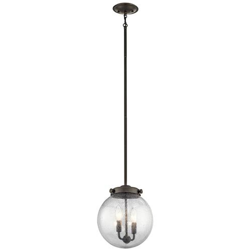 Kichler Holbrook Olde Bronze Two-Light Mini Pendant