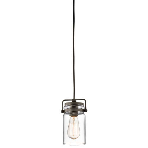 Brinley Olde Bronze One Light Mini Pendant