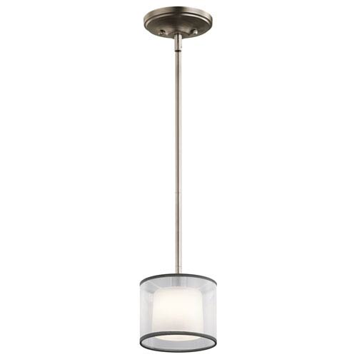 Tallie Antique Pewter One-Light Mini Pendant