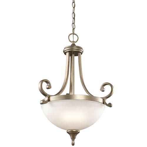 Kichler Monroe Sterling Gold Two-Light Pendant
