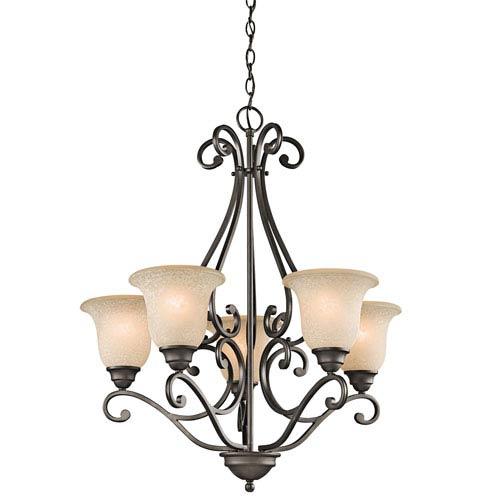 Camerena Olde Bronze Five-Light Chandelier