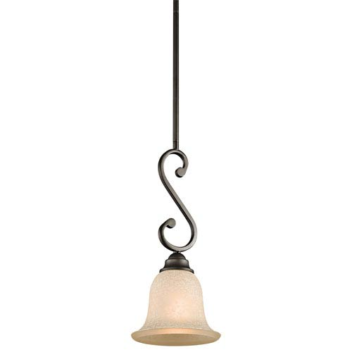 Camerena Olde Bronze One-Light Mini Pendant