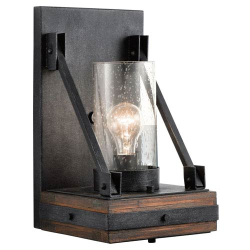 Kichler Colerne Auburn Stained One Light Wall Sconce