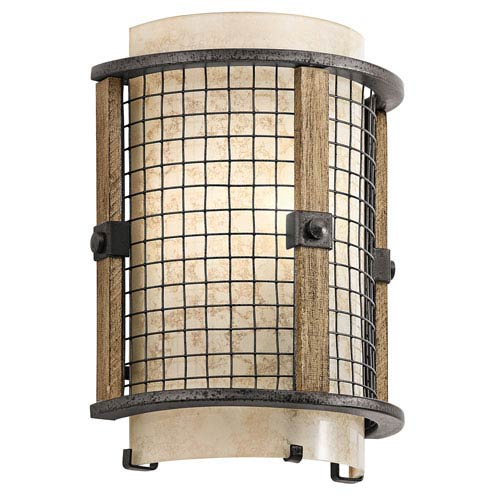 Ahrendale Anvil Iron One-Light Wall Sconce