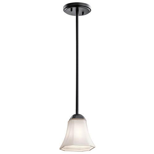 Kichler Serena Black One-Light Mini Pendant