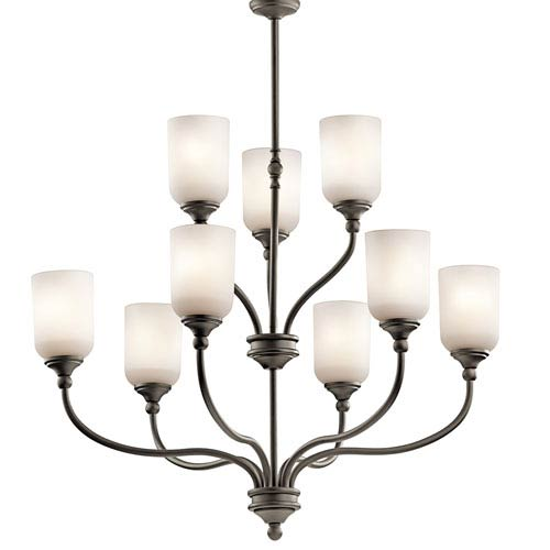 Kichler Lilah Olde Bronze Nine-Light Chandelier