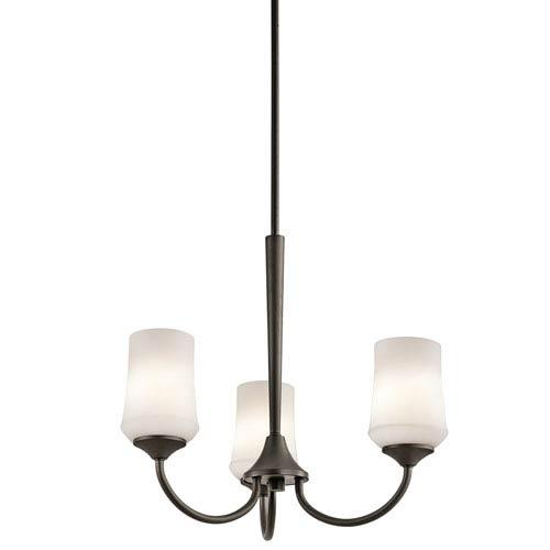 Kichler Aubrey Olde Bronze Three-Light Chandelier