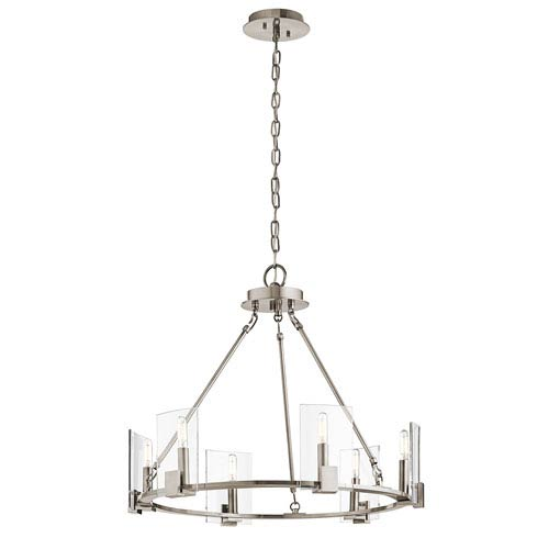Signata Classic Pewter Six-Light Chandelier